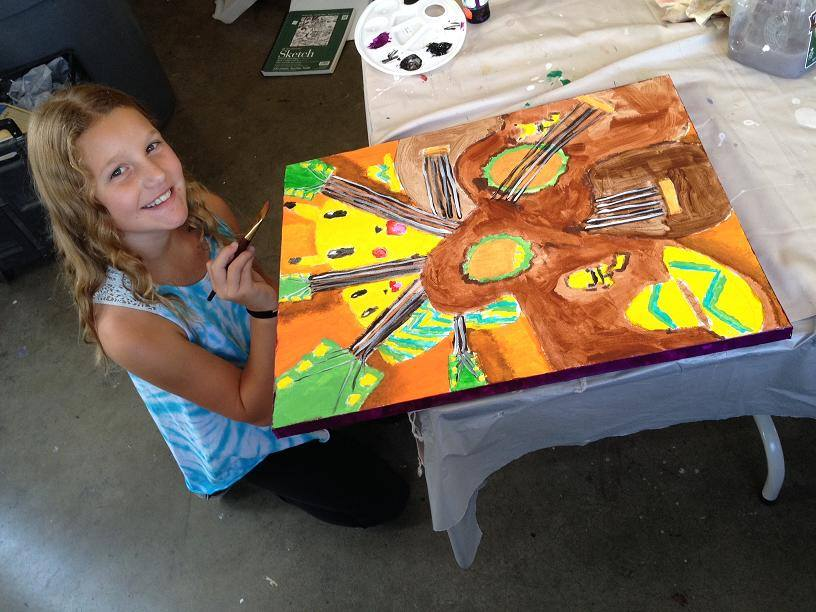 Livermore Children (10+) and Teens Group Fine Art Classes – Mondays